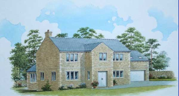 Park Drive Eldwick, Artists Impression